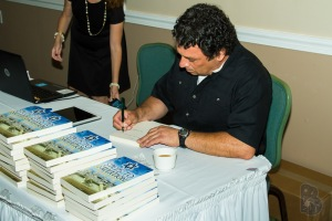 After several years in the making, it's a great feeling to sign books.